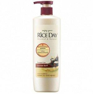 "CJ LION ""Rice Day"" Шампунь 550мл для поврежденных волос /12шт/"