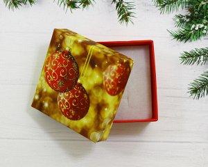 Подарочная коробочка(5.5*5.5) Красный шар