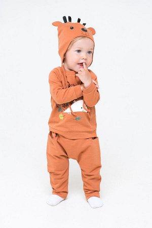Комплект(Осень-Зима)+baby (светло-коричневый(желуди))