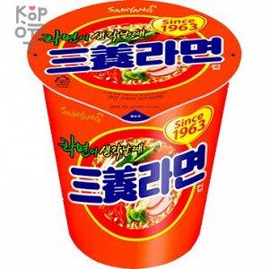 "Лапша б/п с острым вкусом (бекон) ""Samyang Cup Ramen. Spicy flavor noodle""  65г"