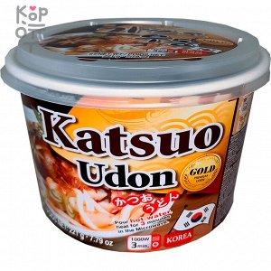 """Удон со вкусом тунца """"Katsuo flavor udon"""" 221г"""