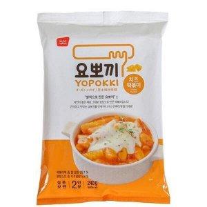 Рисовые клецки (топокки) с сырным соусом 240г