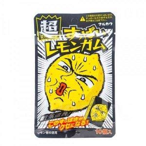 """Резинка жевательная Marukawa """"лимон кислый"""" 41 гр"""