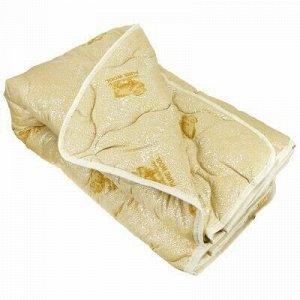 Одеяло Евро Макси 235х215см, наполнитель: овечья шерсть 40%.