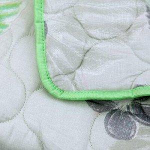 """Одеяло Евро 200х215см, наполнитель термофайбер """"Тропики"""", пл"""