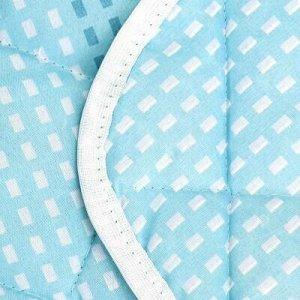 """Одеяло 1,5 спальное 140х210см, наполнитель синтепон """"Олива""""."""