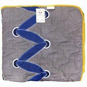 """Одеяло 1,5 спальное 140х210см, наполнитель термоватин """"Шнуро"""