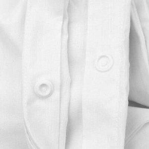"""Страйп, белый"" Пододеяльник на кнопках ""Евро Макси"" 220х240"