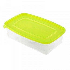 """Контейнер для продуктов пластмассовый """"Каскад"""" 0,7л, 20х12х5"""