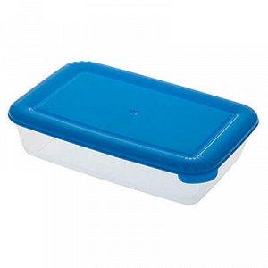 """Контейнер для продуктов пластмассовый """"Лайт"""" 0,45л, 16,5х11х"""