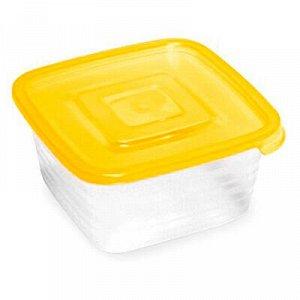 """Контейнер для продуктов пластмассовый """"Унико"""" 0,45л, 12х12х6"""