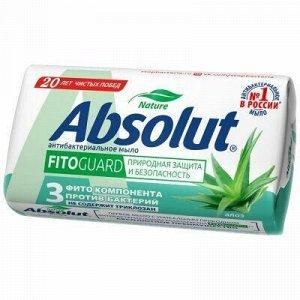 """Мыло туалетное твердое """"Absolut"""" """"FitoGuard"""" 90г, алоэ (Росс"""