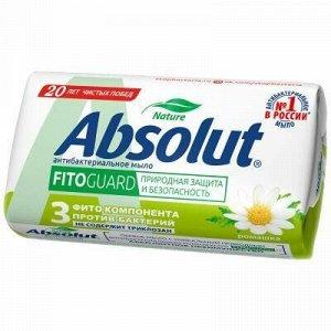 """Мыло туалетное твердое """"Absolut"""" """"FitoGuard"""" 90г, ромашка (Р"""