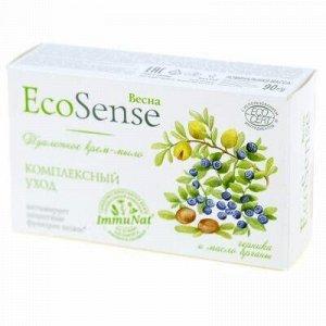 """Мыло-крем туалетное твердое """"Ecosense"""" 90г, черника и масло"""