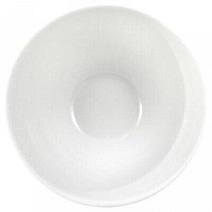 Пиала фарфоровая 250мл, д11см, h5,5см, белье (Россия)