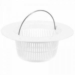 Пробка-сетка для раковины, ванн, душевых, пластмассовая д9см