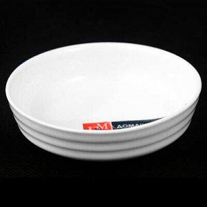 """ДМ"" Розетка ""Круги на воде"" 8х2,5 см, фарфор (Китай)"