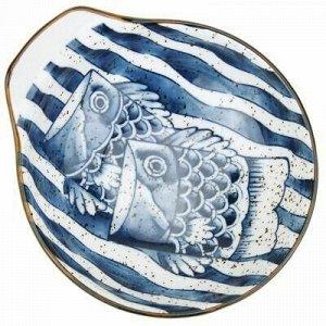 """""""Рыба моей мечты"""" Салатник фарфоровый 200мл, 12,2х10,7х3,8см"""