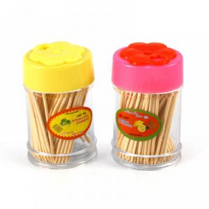 Зубочистки 2 упаковки по 100 штук, корпус акрил (Китай)