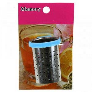 """Ситечко для чая из нержавеющей стали и пластика """"Ассам"""" 4х2."""