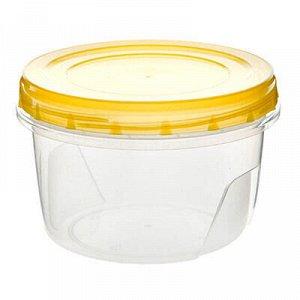Банка для сыпучих продуктов пластмассовая 0,3л, д10см, h6,5с