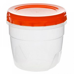 Банка для сыпучих продуктов пластмассовая 0,5л, д10см, h10см