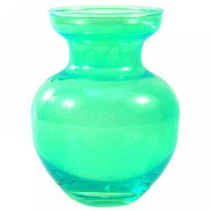 """Ваза для цветов стеклянная """"Залина-4"""" 0,47л, д9,5см, h12,5см"""