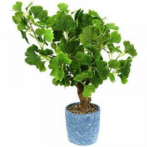 """Декоративное дерево """"Дерево Гинкго"""" 55см, в керамическом гор"""