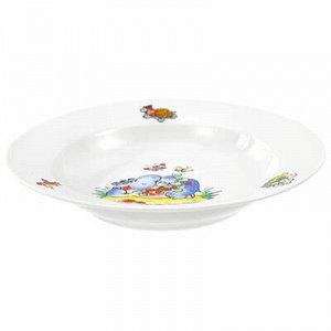 """Набор посуды фарфоровый """"Зоопарк"""" 3 предмета: кружка 210мл."""