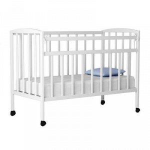 """Кровать детская """"Magico mini"""" (маятник, откид.планка, КР1-03м) (белый)"""
