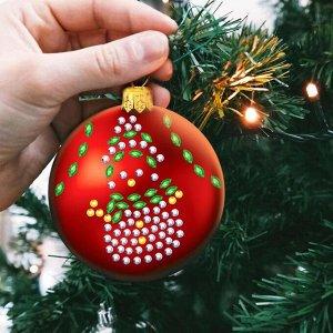 Набор для творчества. Новогодний шар «Снеговик»
