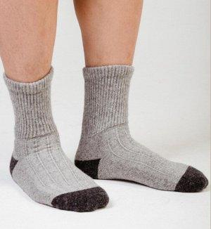 Носки шерсть 70% (41-43, серый/графит)