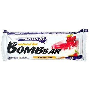 Батончик Bombbar протеиновый RASPBERRY CHEESECAKE 60 г
