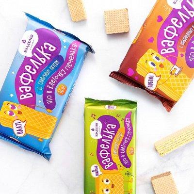 Сладости от LOTTE 🍭 Попкорн Jolly Time🍿 Гранола — Вафли и пряники Владхлеб — Вафли и печенье