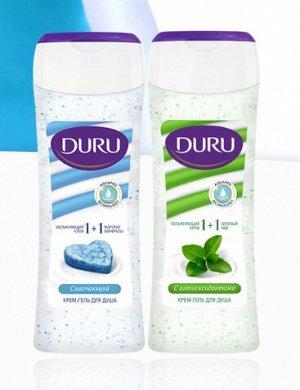 Гель-Крем для душа DURU 1+1 250 мл (Турция)