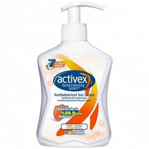 Жидкое мыло антибактериальное ACTIVEX 300 мл (Турция)