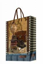 Бумажный пакет Сборы путешественника