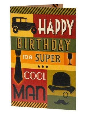 Подарочная открытка Супермен