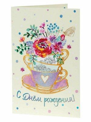 Подарочная открытка Букет