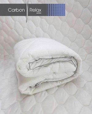 Одеяло серии Carbon-Relax (клетка малая)