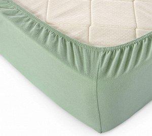 Комплект наволочек для подушки 50*70 см, трикотаж, на молнии (Оливковый)