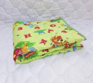 Одеяло детское файбертекс (300гр/м) бязь