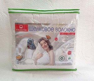 Одеяло шелковое волокно (300гр/м) тик
