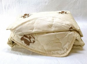 Одеяло верблюжья шерсть (100гр/м) полиэстер