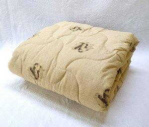 Одеяло верблюжья шерсть (300гр/м) полиэстер