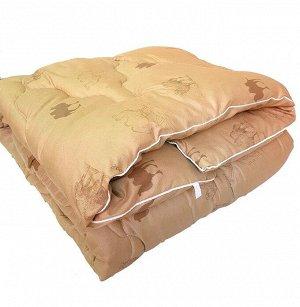 Одеяло верблюжья шерсть (450гр/м) полиэстер
