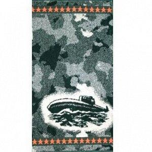 Полотенце махровое Камуфляж (подлодка)