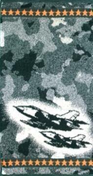 Полотенце махровое Камуфляж (самолет)