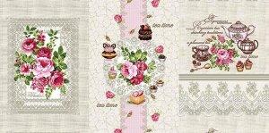 Набор вафельных полотенец Кружева (3 шт)