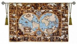 Панно Карта (гобелен)